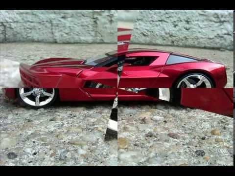 Corvette Stingray Timeline on Diecast 2009 Corvette Stingray And 1982 Delorean