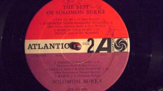 Watch Solomon Burke I Really Dont Want To Know video