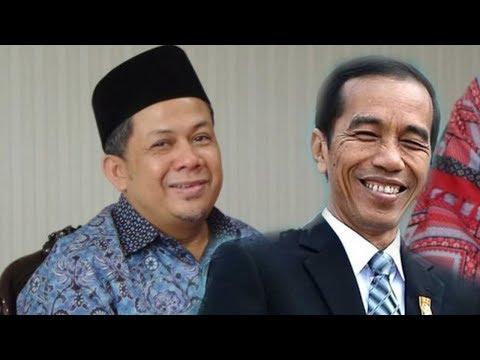 Bertemu Jokowi saat Buka Puasa Bersama di Istana, Fahri Hamzah Nampak Beri Hormat Kepada Presiden
