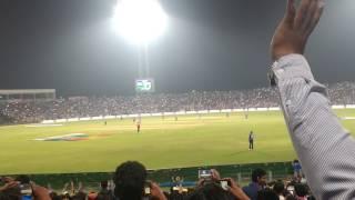 Virat Kohli -Kohli's Century highlights - Crowd's Excitement-India vs England - Odi 2017 - Pune