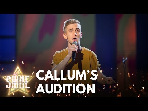 Callum Howells Performs 'You'll Be Back' From The Musical Hamilton - Let It Shine - BBC One