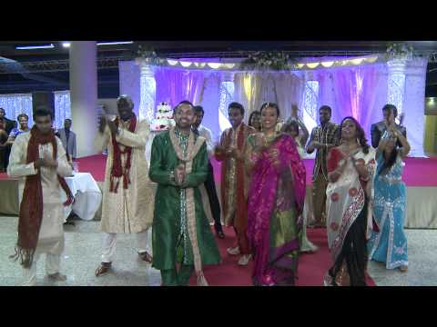 Flash Mob Dance - Aarany & Jeffrey's Wedding video