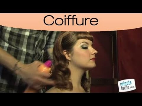 Look faire une coiffure pin up youtube - Pin up coiffure ...