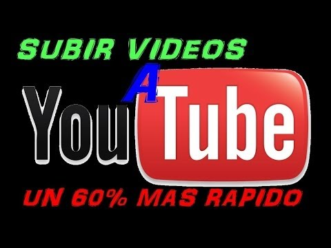 como subir videos a youtube  mas rapido (loquendo)