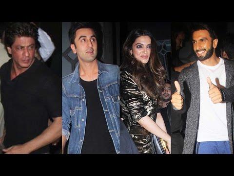 Shah Rukh Khan, Deepika Padukone, Ranbir Kapoor, Ranveer Singh And Other Bigwigs Party Together