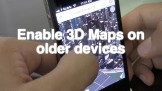 How to install 3D Maps on iPhone 4, 3GS, iPod touch 4th generation the easy way