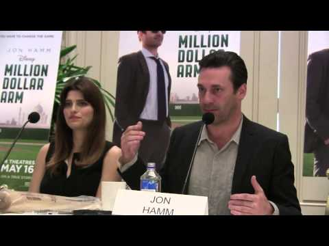 Disney Million Dollar Arm Press Conference