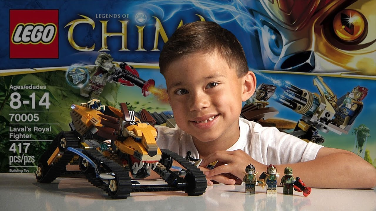LAVAL'S ROYAL FIGHTER - LEGO Legends of Chima Set 70005- Time ...