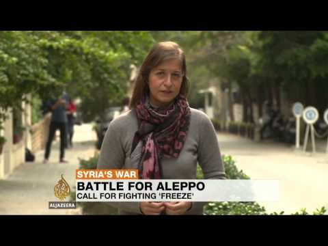 Syrian rebels sceptical of Aleppo ceasefire