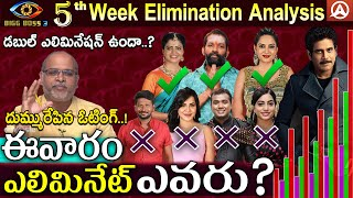 5th Week Elimination Analysis By Paritala Murthy l Bigg Boss Telugu Season 3 l Namaste Telugu