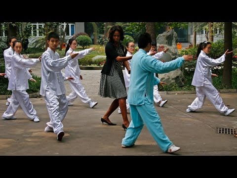 Under Social Media's Magnifying Glass, Michelle Obama Visits China (LinkAsia: 3/28/14)