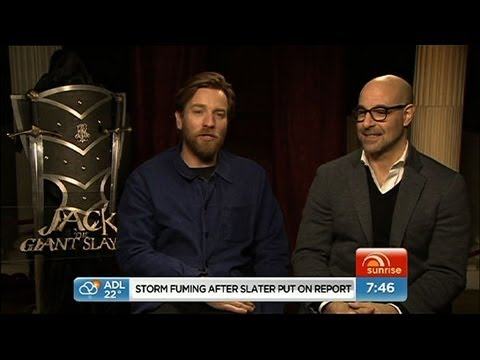 Sunrise - Ewan McGregor talks Jack