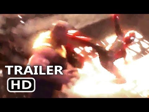 "AVENGERS INFINITY WAR ""Spidey Hits Thanos"" Trailer NEW (2018) Marvel Superhero Movie HD"