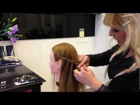 Hoe maak je waterval vlecht tips by top stylist and color