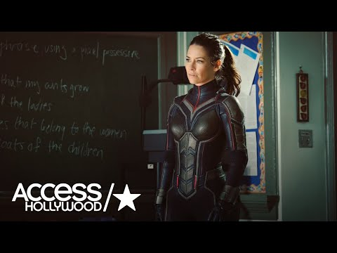 'Ant-Man And The Wasp': Evangeline Lilly Shares First Look At Her Wasp Costume | Access Hollywood