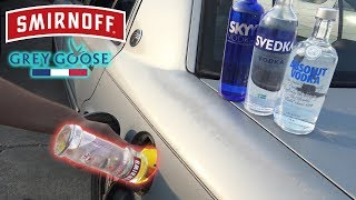Can You Use VODKA as GASOLINE?