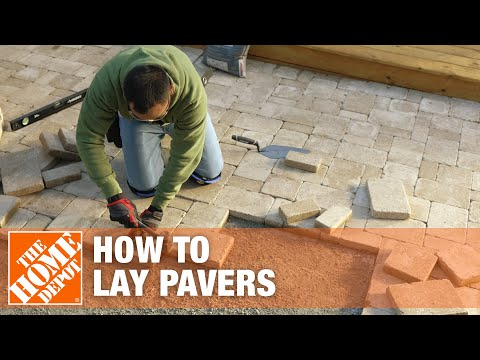 Rick from our How-To Community shows you how to lay pavers in a small space in your yard. Laying pavers is an easy DIY project you can do in a weekend.