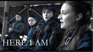 Sansa Stark || Here I Am  [8x06]