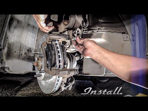 How To: Front Brake Job (Rotors + Pads Replacement/Change) Toyota Camry