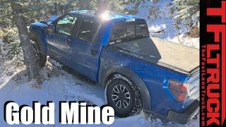 Ford F-150 Raptor vs Gold Mine Hill Snowy Off-Road Misadventure