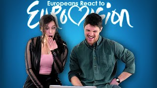 Europeans React to Most Bizarre EUROVISION Videos