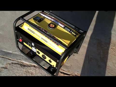 4000 Watt Champion Generator