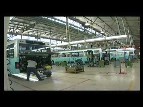 MAN Bus Factory in Ankara (MAN Otobus Fabrikası)