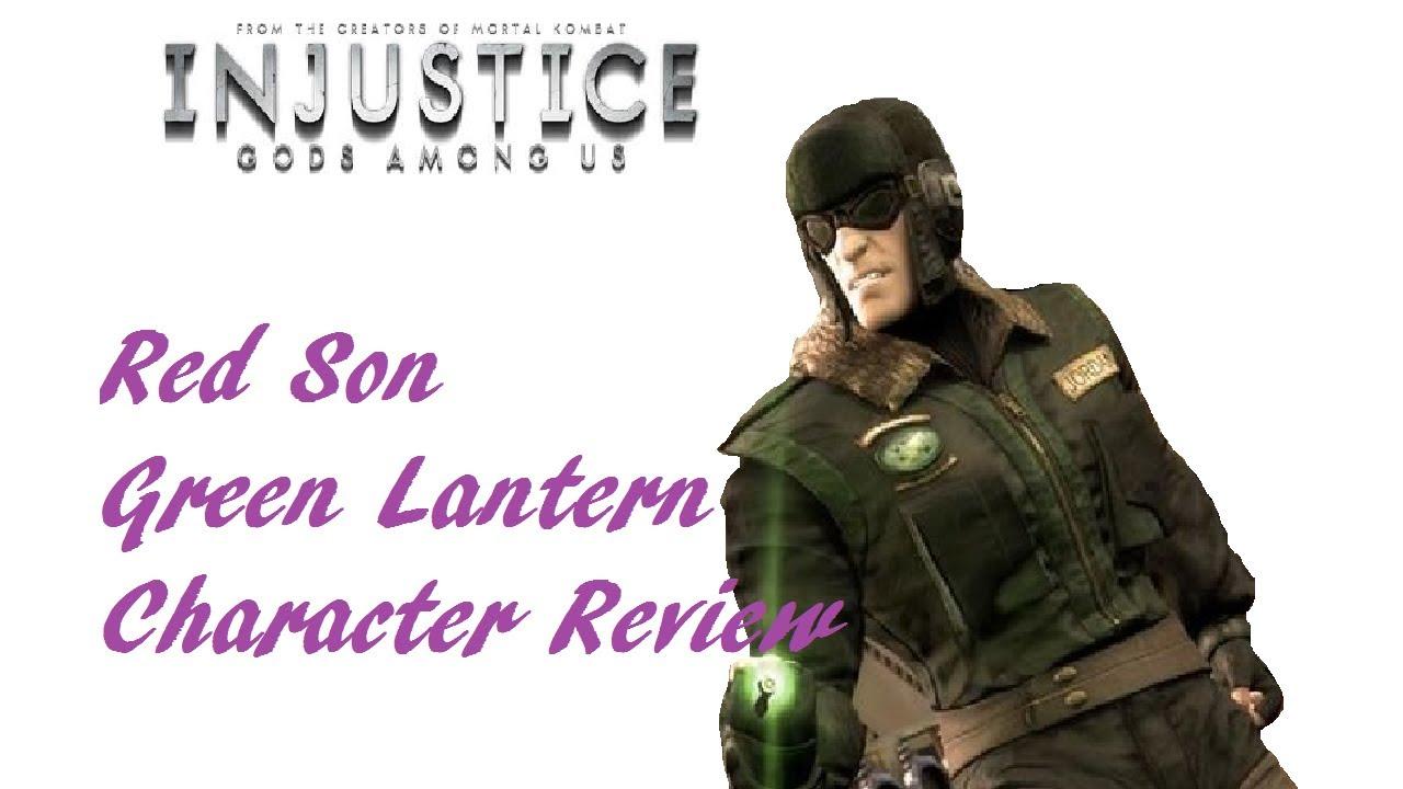 Red Son Green Lantern Challenge Injustice Ios Red Son Green