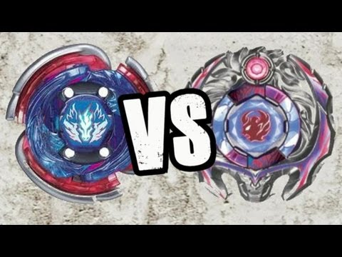 Beyblade Big Bang Pegasis F:D VS Samurai Ifraid W145CF