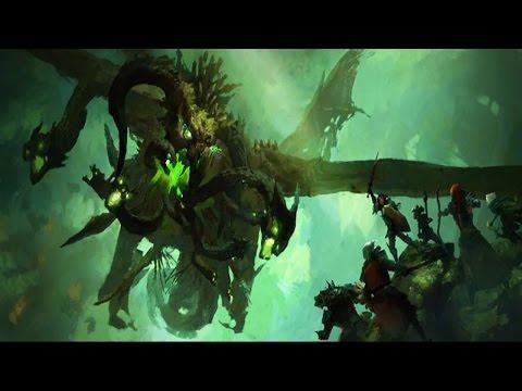 The Story of Zhaitan. The Elder Dragon [Guild Wars 2 Lore]