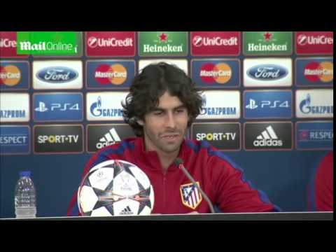 Tiago Mendes training with Atletico Madrid  Mail Online