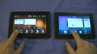 BlackBerry Playbook OS 1.0 VS 2.0 - Comparison & New Things