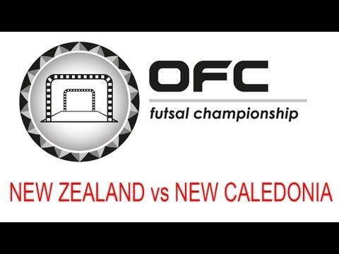 2013 OFC Futsal Championship Invitational Match Day 3 New Zealand vs New Caledonia