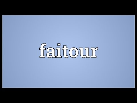 Header of faitour