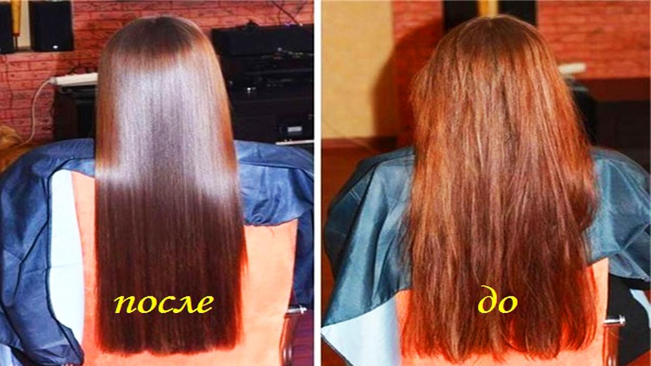 Как сделать домашнее ламинирование волос с желатина 58