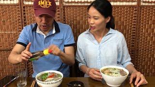 |Tập 171| CHỒNG HÀN VỢ VIỆT-PHỞ VÀ BÚN BÒ MUKBANG.VIETNAM PHO MUKBANG.베트남 쌀국수 와 분보후에 먹기.