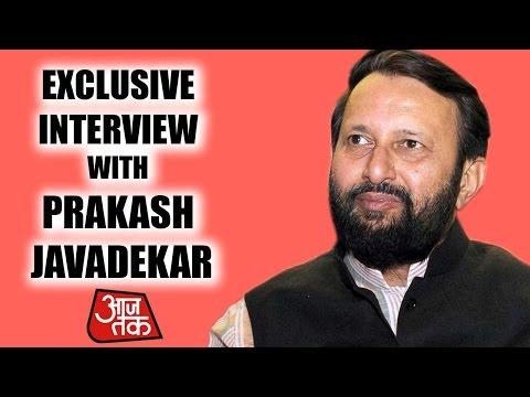 Exclusive Interview With Prakash Javadekar