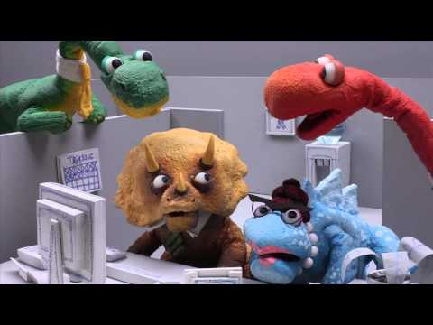 Dinosaur Office: Viral Videos