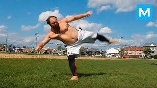 Kung Fu Panda In Real Life  Sebastien Charron  Muscle Madness