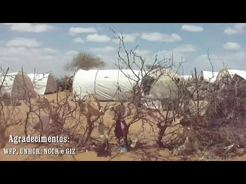 Campo de refugiados em Dadaab HD