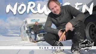 Mit dem Wohnmobil im Winter zum Nordkap - Norwegen VLOG #010 [2018]