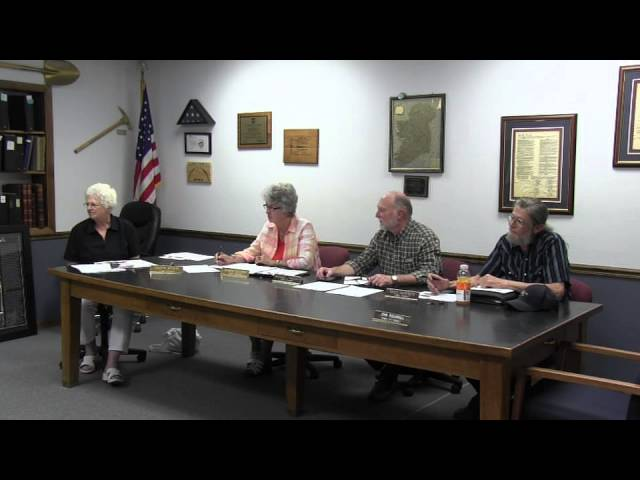 Lakeview Town Council regular session meeting 8-26-2014