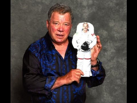 William Shatner Phones the International Space Station