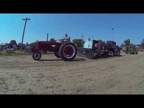 Ben Judd Farmall H Community Antique Tractor Pullers  Monroe WI 7/20/13