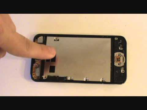 iPod Touch 4th Gen LCD Screen Glass Repair Tutorial   GadgetMenders.com