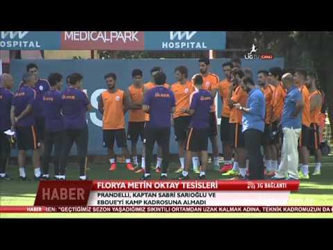 Cesare Prandelli - Galatasaray'da İlk Antremanı.. (11.07.2014)