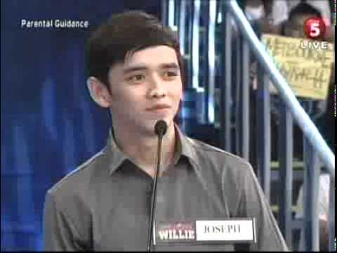 Joseph Apostol at willing willie TV.5 (hall of fame)