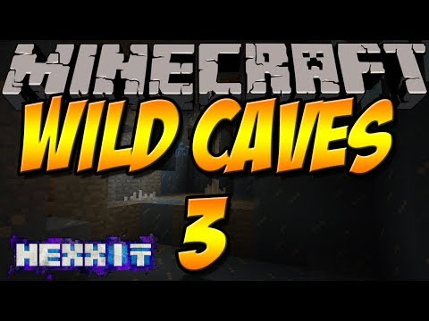 BESSERE HÖHLEN   Wild Caves 3 Mod   Minecraft Hexxit Mod Review [DEUTSCH]
