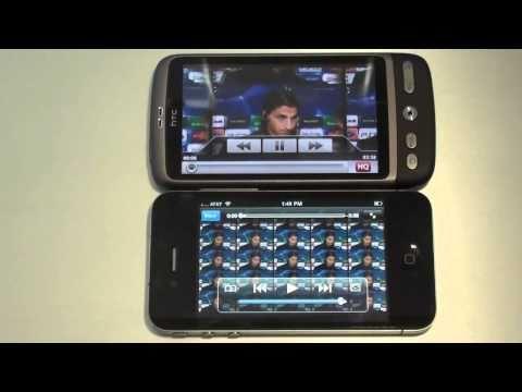 Face Off Apple iPhone 4 Vs HTC Desire Part 1