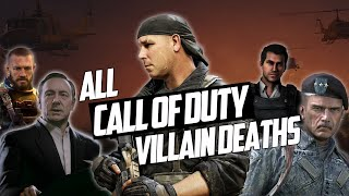 All Antagonist/Villain Death Scenes from every Call of Duty game (2003-2020)